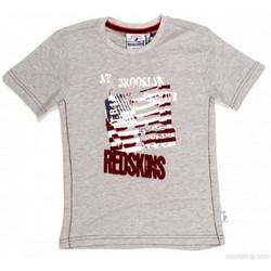 Vêtements Garçon T-shirts manches courtes Redskins T-SHIRT  BARBLA GRIS