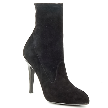 Chaussures Femme Bottines Michael Kors STRETCH LB Noir