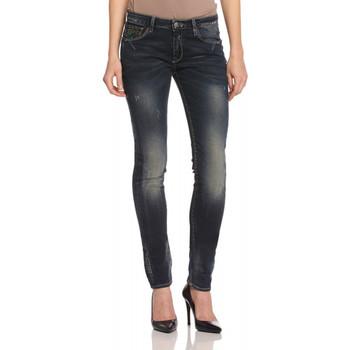 Vêtements Femme Jeans slim Le Temps des Cerises JEAN  316 INCA BLEU Noir