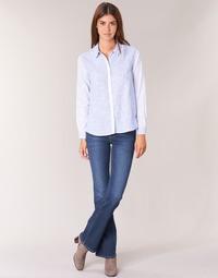 Vêtements Femme Jeans bootcut Pepe jeans PIMLICO CA0 Bleu brut