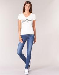 Vêtements Femme Jeans skinny Pepe jeans SOHO Z63 Bleu Medium 8a473ab723b