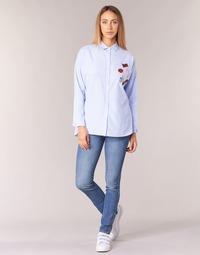 Vêtements Femme Jeans slim Pepe jeans GLADIS Ga7 Bleu clair