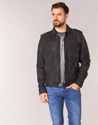 Vêtements Homme Vestes en cuir / synthétiques Pepe jeans NARCISO Noir