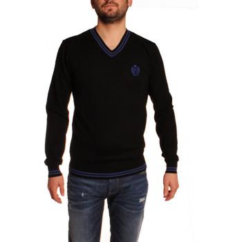 Vêtements Homme Pulls Joe Retro PULL COL V  PRISK NOIR