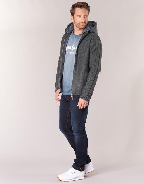 Pepe jeans ROGER Gris 6132645 Vestes Homme