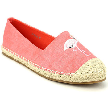 Chaussures Femme Espadrilles Cendriyon Ballerines Corail Chaussures Femme, Corail