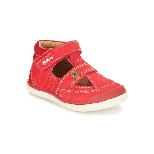 Chaussures Garçon Sandales et Nu-pieds Kickers GOODSPEED Rouge