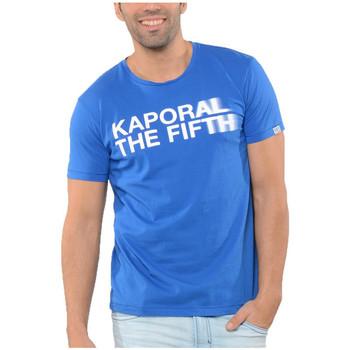 Vêtements Homme T-shirts manches courtes Kaporal T SHIRT KASPI ROYAL BLUE