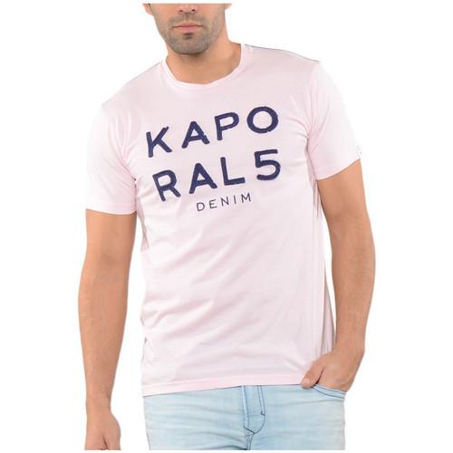 Vêtements Homme T-shirts manches courtes Kaporal T-Shirt  Lim Rose