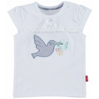 Vêtements Fille T-shirts & Polos Name It Kids T-shirt  Ingrid 13096382 Bright White