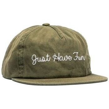 Accessoires textile Homme Casquettes Just Have Fun Casquette  Faded Self Strapback Olive Olive