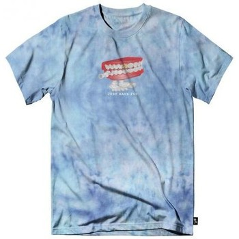Vêtements Homme T-shirts manches courtes Just Have Fun T-shirt  Chatterbox Tee Bleu Ciel Tie And Dye Bleu ciel