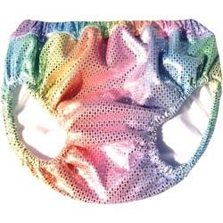 Vêtements Fille Maillots / Shorts de bain Princesse Ilou Maillot de bain bébé anti-fuite Rainbow Multicolore