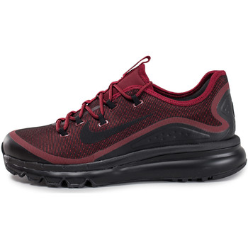 Chaussures Homme Baskets basses Nike Air Max More Noir/Rouge