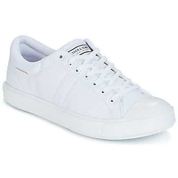 Chaussures Homme Baskets basses Jack & Jones MERVIN Blanc
