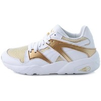 Chaussures Femme Baskets basses Puma France BLAZE GOLD Blanc