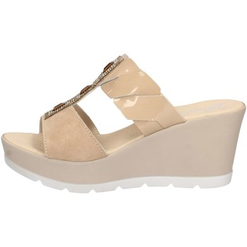 Chaussures Femme Mules Susimoda 163742/42 Sandales Femme Stone Stone