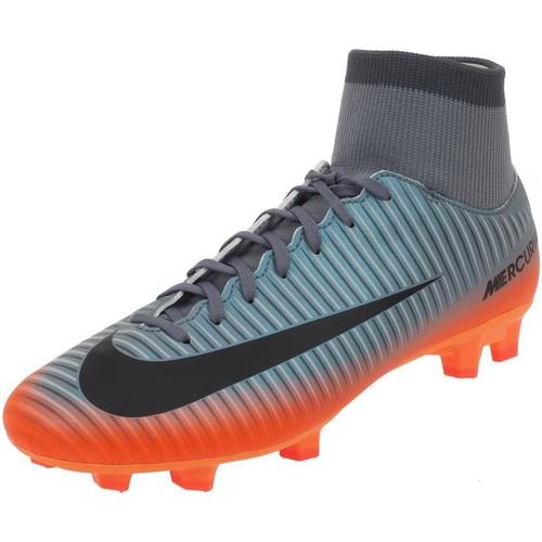 Chaussures Homme Football Nike Mercurial victory sox h Orange fluorescent