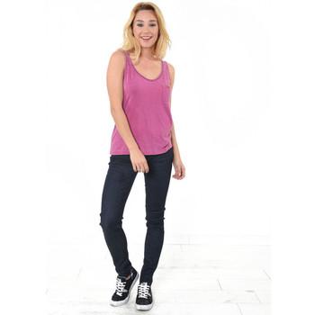 Vêtements Femme Débardeurs / T-shirts sans manche Kaporal Débardeur Femme Angus Sangri Violet