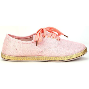 Chaussures Femme Espadrilles Cendriyon Ballerines Rose Chaussures Femme, Rose