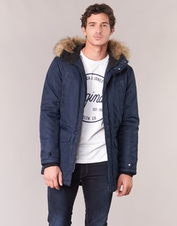 Vêtements Homme Parkas Jack & Jones LAND CORE Marine