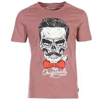 Vêtements Homme T-shirts manches courtes Jack & Jones CRIPTIC ORIGINALS Rose