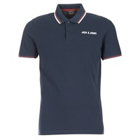 Vêtements Homme Polos manches courtes Jack & Jones WAZ ORIGINALS Marine