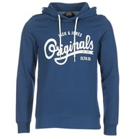 Vêtements Homme Sweats Jack & Jones HAWL ORIGINALS Bleu