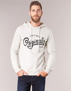 Vêtements Homme Sweats Jack & Jones HAWL ORIGINALS Ecru