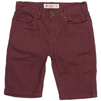Vêtements Garçon Shorts / Bermudas Element Short  Owen Wk Color Boy - Napa Red Rouge