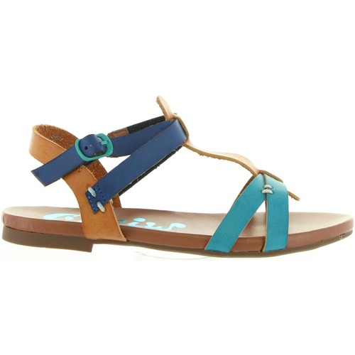 Chaussures Fille Sandales et Nu-pieds Cheiw 45677 Azul