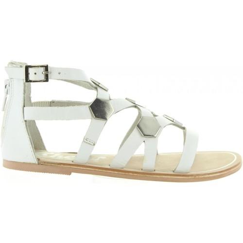 Chaussures Fille Sandales et Nu-pieds Cheiw 45632 Blanco