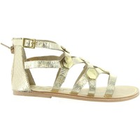 Chaussures Fille Sandales et Nu-pieds Cheiw 45632 Gold