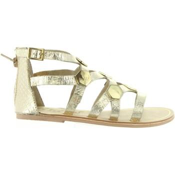 Chaussures Fille Sandales et Nu-pieds Cheiw 45632 Gold