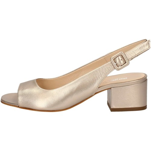Chaussures Femme Sandales et Nu-pieds Mariano Ventre 5674 Sandales Femme Platine Platine