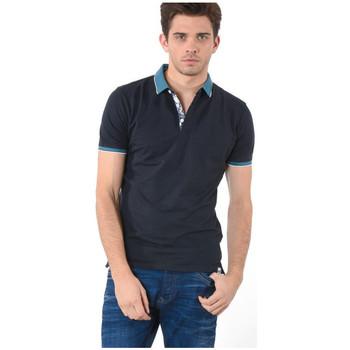 Vêtements Homme Polos manches courtes Kaporal Polo Daury Carbo Noir