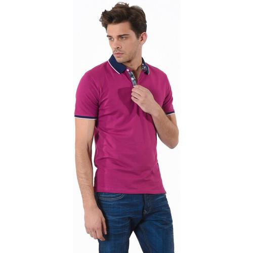 Vêtements Homme Polos manches courtes Kaporal Polo Daury Sangria Violet
