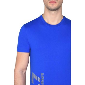 Vêtements Homme T-shirts manches courtes Emporio Armani EA7 3YPTB1 T-shirt Homme Royal Blue Royal Blue