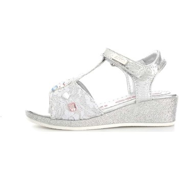 Chaussures Fille Sandales et Nu-pieds Asso 55600 Sandales Fille Silver Silver