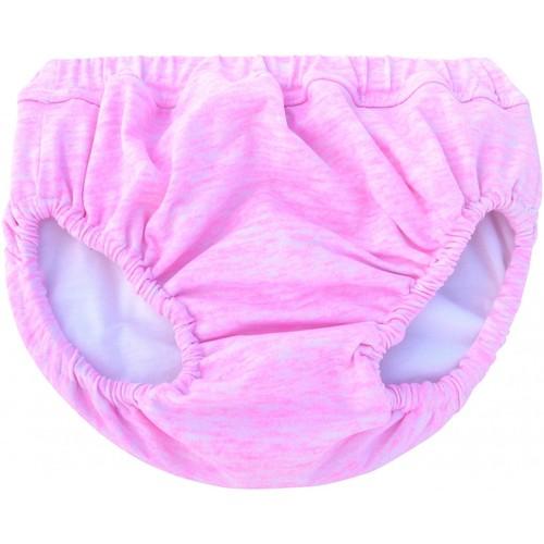 Vêtements Fille Maillots / Shorts de bain Princesse Ilou Maillot de bain bébé anti-fuite rose chiné Rose