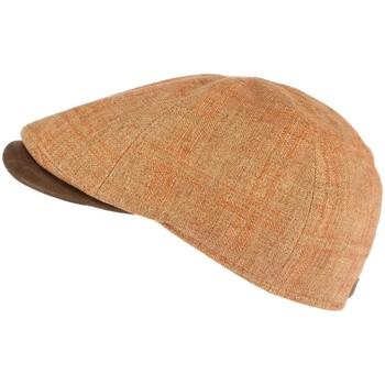 Accessoires textile Casquettes Göttmann casquette marron visière cuir Memphis Marron