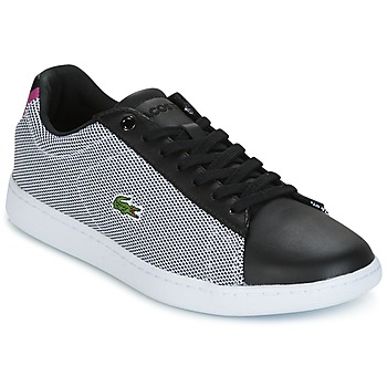 Chaussures Femme Baskets basses Lacoste CARNABY EVO 117 1 SPW Noir