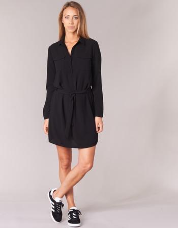 Vêtements Casual Courtes Attitude Honire Robes Femme Noir qpLSUVzMG