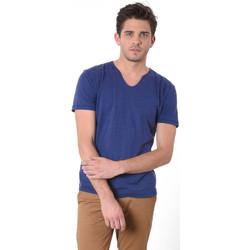 Vêtements Homme T-shirts manches courtes Kaporal T-Shirt  Salva Bleu Marine 19