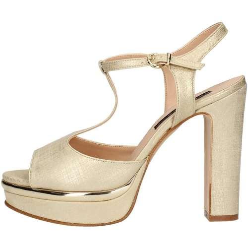 Chaussures Femme Sandales et Nu-pieds Silvana 771 Platine