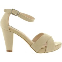 Chaussures Femme Sandales et Nu-pieds MTNG 53840 Beige