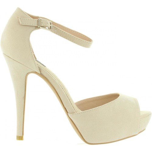 Chaussures Femme Sandales et Nu-pieds MTNG 53620 Beige