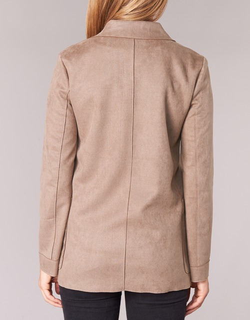 Manteaux Casual Taupe Femme Haupe Attitude OvyN08wnm