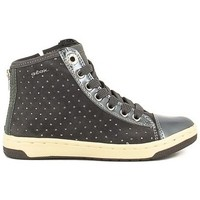 Chaussures Fille Bottines Geox J64L5A Gris
