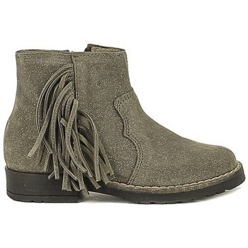 Chaussures Fille Bottines Acebo's 4852-DA Gris